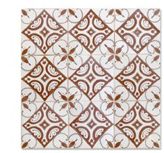 ** NEW **  HPR 50 hand painted tile from Mosaic House