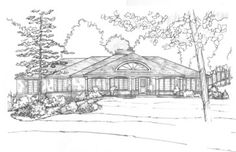 One of many exterior studies of extensive remodel to Lake Geneva cape cod showplace!