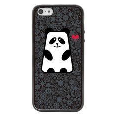 iPhone 5 and iPhone 5s Panda Bumper Case | Sodacase.com