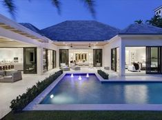 """""""View this Great Contemporary Swimming Pool with Gazebo & Lap pool in Boca Raton, FL. The home was built in 2015 and is 4570 square feet. Discover & browse thousands of other home design ideas on Zillow Digs."""""""