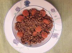 """Κόκκινες φακές σε σούπα, μία """"άγνωστη"""" νοστιμιά!!! συνταγή από ggr - Cookpad Dog Food Recipes, Beans, Vegetables, Beans Recipes, Vegetable Recipes, Prayers, Veggies"""