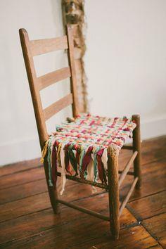 Reaproveitando a velha cadeira