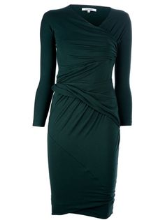 carven ruched dress