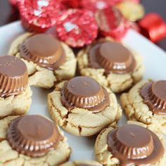 Peanut Butter Cups, and a cake mix, make for easy, and amazingly good cookies.
