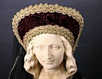 French Hood Renaissance Headdres