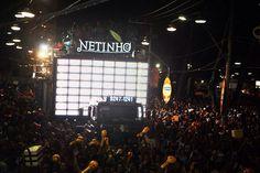 Netinho em seu Trio Elétrico em 2011 no Carnaval de Salvador em Salvador/BA.