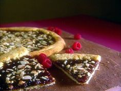 Crostata with Raspberry Jam from CookingChannelTV.com