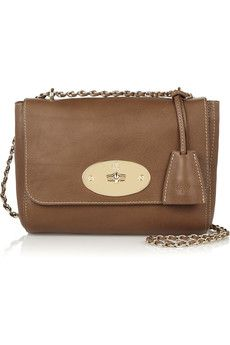 Mulberry - Lily small textured-leather shoulder bag