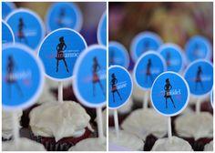 Fashion theme cupcak