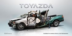 TOYAZDA, Brand new car for careless drivers!