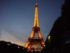 The Eiffel Tower, tallest structure in Paris
