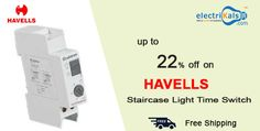 Offers you can't refuse on #HAVELLS staircase light time switch   Electrikals.com