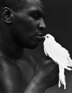 Mike Tyson - black & white images