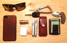Leather & Copper Home EDC
