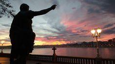 10 razones para escaparse a Gijón este otoño Silhouette, Celestial, Sunset, Villa, Outdoor, Viajes, Sunsets, Outdoors, Outdoor Living