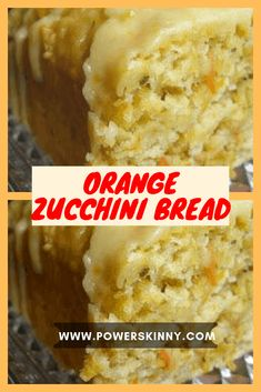 Orange Zucchini Bread – Page 2 – One Of Recipe Just Desserts, Dessert Recipes, Cake Recipes, Recipes Dinner, Zucchini Bread Recipes, Orange Zucchini Bread Recipe, Zuchinni Bread, Zucchini Pancakes, Zucchini Chips