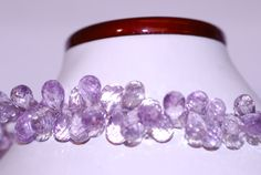 Product - Pink Amethyst Drops Color - Pink Quality - AAA Shape - Drops Faceted Measures - - (app) Length - 8 Inches Quantity - 30 plus per Strand If you require multiple strands for same item or different kindly email so we add quantity in stock. Pink Amethyst, Trending Outfits, Unique Jewelry, Handmade Gifts, Vintage, Etsy, Kid Craft Gifts, Craft Gifts, Costume Jewelry