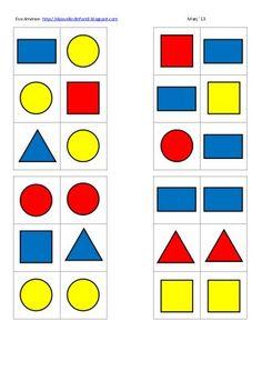Blocs lògics i espai eva Montessori Classroom, Montessori Activities, Preschool Activities, Learning Shapes, Kids Learning, Shapes For Kids, Math Intervention, Free Preschool, Montessori Materials