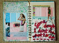 Art Journaling.... TAYLOR!!!!!!!!!!   THIS IS WHAT WE SHOULD DO FOR OUR JOURNAL!!!!