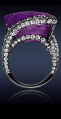 purple beauty bling jewelry fashion