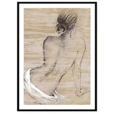 Bedroom art by my vanity ... Nude Wall Art - BedBathandBeyond.com