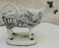SWANSEA COW CREAMER 1830 - BAKER BEVAN & IRWIN Cow Creamer, Antique Pottery, Swansea, Table Lamp, Antiques, Home Decor, Homemade Home Decor, Antiquities, Table Lamps