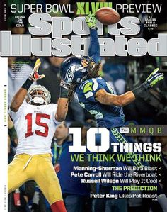 The cover of Sports Illustrated this week!
