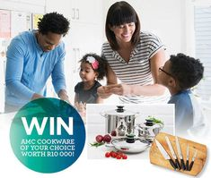 WIN AMC cookware of your choice worth