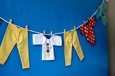 Un decorado que luego puede adornar el cuarto del bebé! / A party decoration that can later be used to decorate the baby's room!