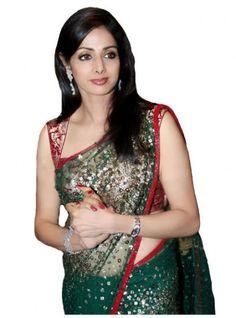 sridevi sarees, Beauties in sarees