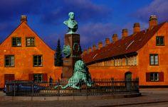 København - Nyboder by Guillaume Baviere