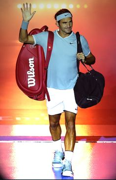 Oh how I LOVE Roger Federer ♡