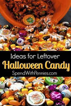 What to do with all of that Leftover Halloween Candy!