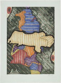 Jasper Johns. Green Angel. 1991
