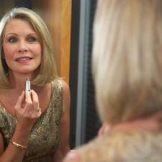 Applying makeup properly can make your face look younger.