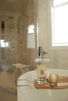 Moroccan inspired bathroom by Calgary designer