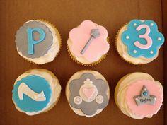 Princess /Cinderella birthday cupcakes www.facebook.com/cakeitorleaveitcakesbymarianne