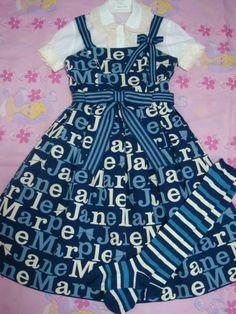 Jane Marple dress