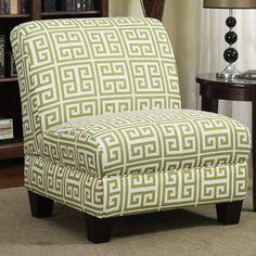 Handy Living Andee Slipper Chair