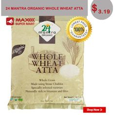 Buy Now:http://bit.ly/Maxsupermart-whole-wheat-atta