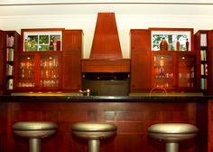 Craftsman Style Kitchen Cabinets   ... kitchen design, arts and crafts kitchen, Traditional custom cabinets