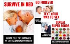Survive In Bed™ is a comprehensive guide that contains information that men may need regarding the issue of E.D by addressing the real cause and not just hiding the symptoms. It reveals step-by-step instructions which must be followed adequately to help men address their E.D. http://digiebookstore.com/survive-in-bed-by-jack-bridges/