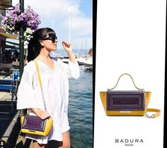 Stunning Laura Comolli Purses&I by Laura Comolli wearing our LUISA MINI. We absolutely <3 it!