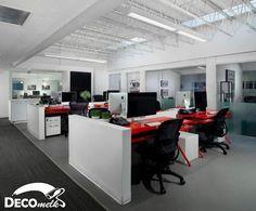 بهترین ایده ها و طراحی دکوراسیون برای محیط کاری اداره