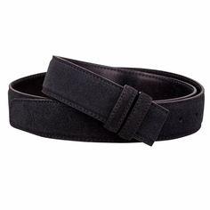 Men/'s//Women/'s H belts Leather Waist Belt Waistband Without Buckle 32//37 mm Width