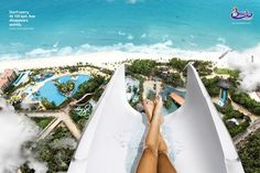 Highest slide in the world: The Insano Slide at Beach Park Brazil. This I must do!