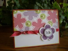 Posies by stampin'nana - Cards and Paper Crafts at Splitcoaststampers