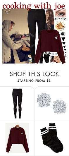 """cooking with joe"" by roxouu ❤ liked on Polyvore featuring Effy Jewelry, Free Press, YouTubers, Youtuber, joesugg and byroxouu"