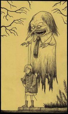 John Kenn Mortenson art scary!!!