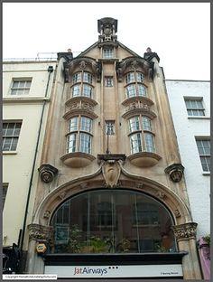 organic/old/modern building
